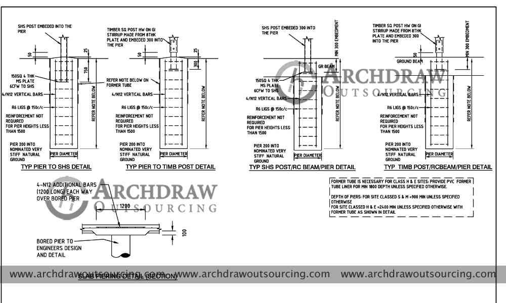 structural detailing drawings project new zealand